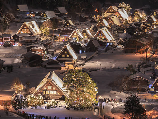 Shirakawago Winter Light-Up