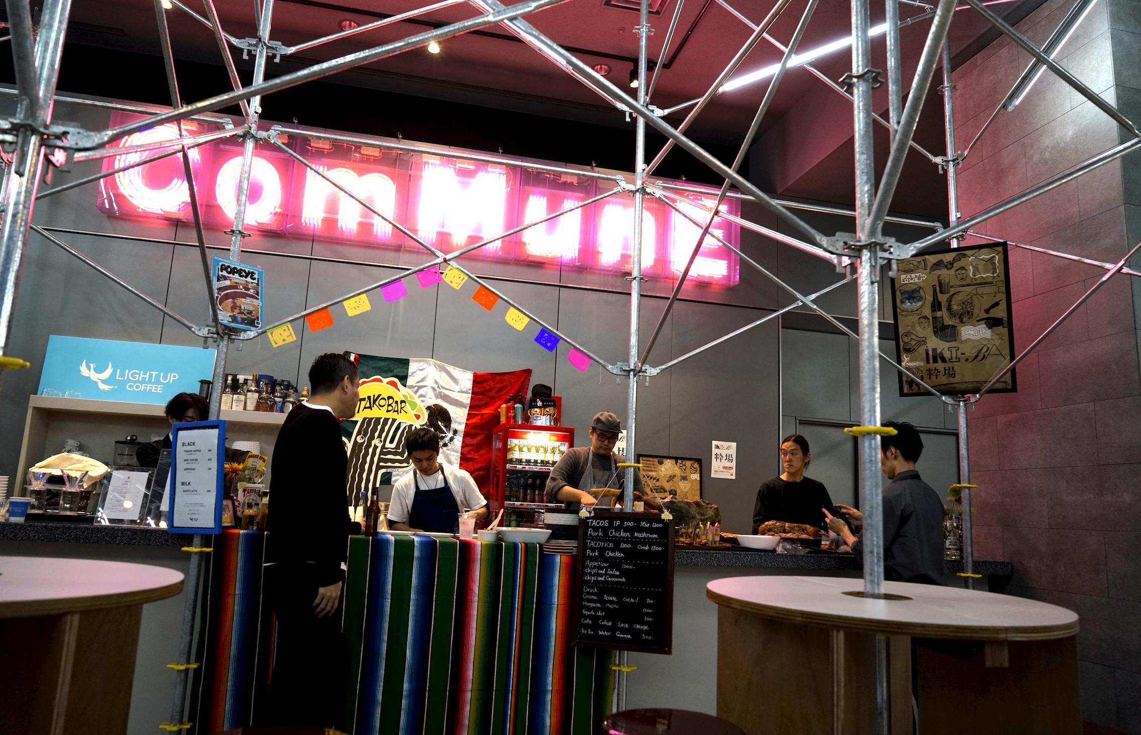 表参道のCOMMUNEが、渋谷パルコ屋上に新たな食空間をオープン