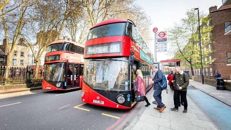 New Routemaster London bus
