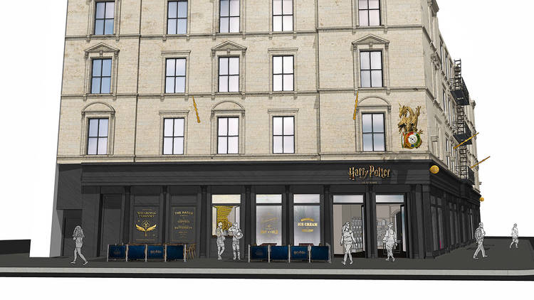 A Harry Potter flagship store is coming to NYC!