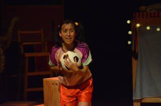 Yaya quiere jugar fútbol (Foto: Cortesía Karen Alicia/La titería)
