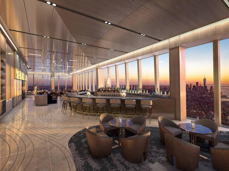 Grab dinner at a sky-high restaurant