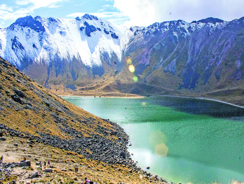 Nevado de Toluca, ruta para caminar