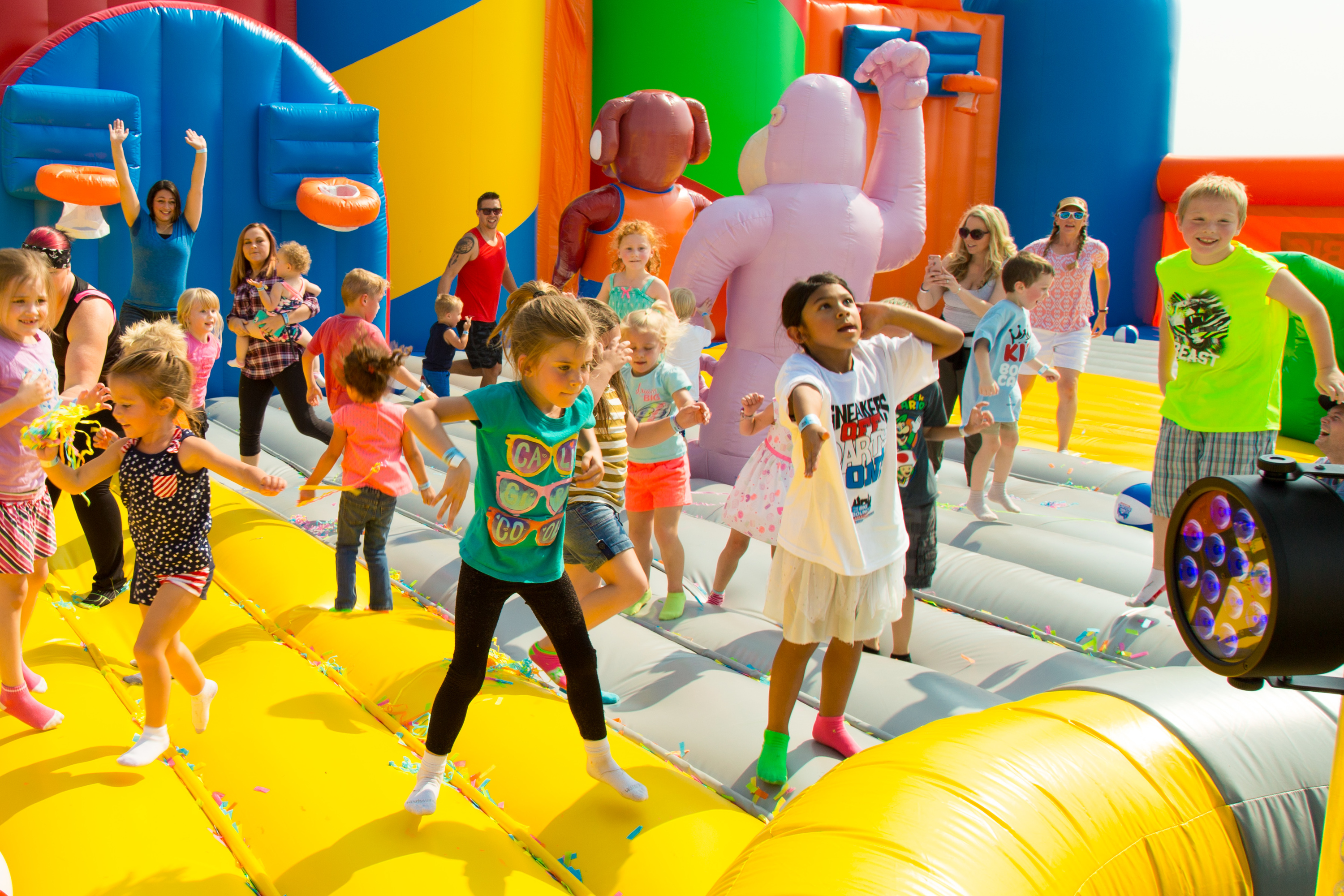 World's largest bounce house is NYC-bound