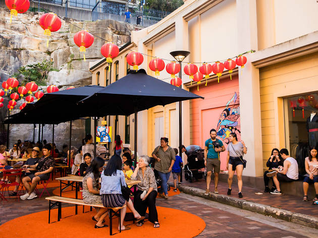 Lunar New Year at the Rocks
