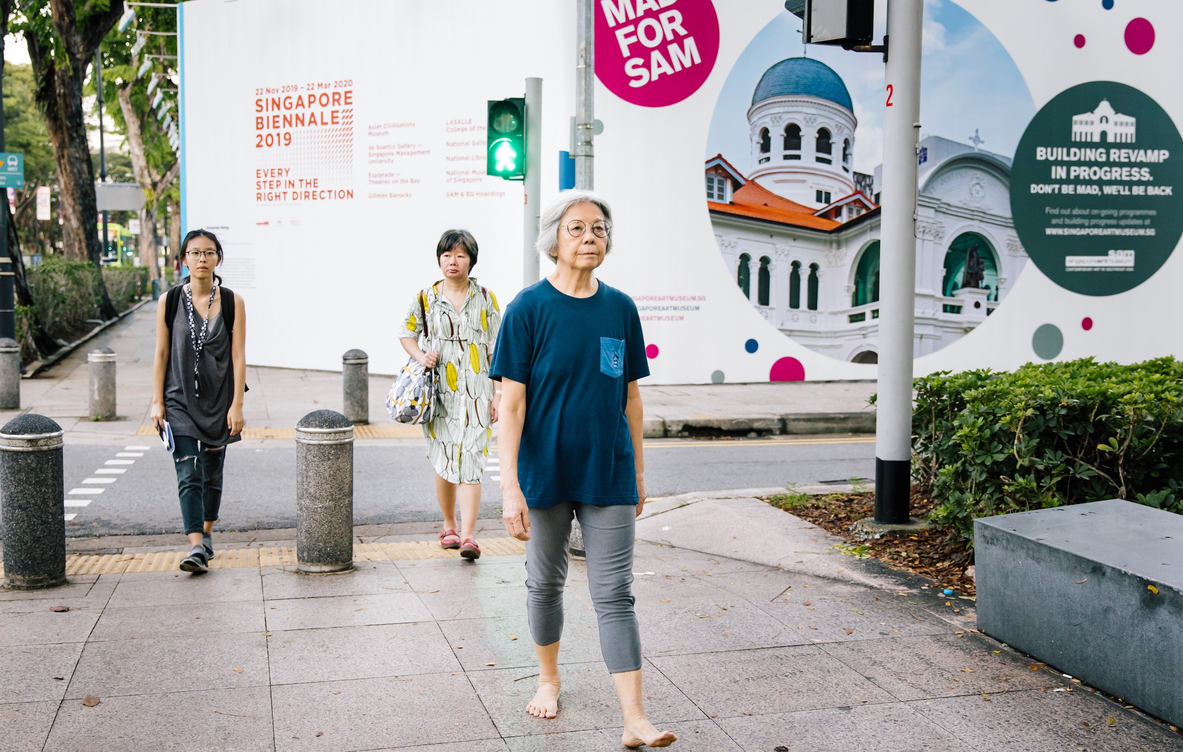 Local artist Amanda Heng wins the 12th Benesse Prize – for walking