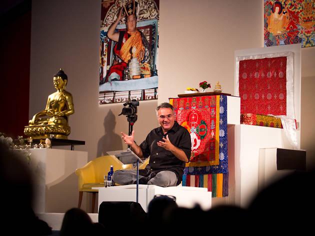Entrevista con el presidente de Casa Tibet Lama Tony Karam