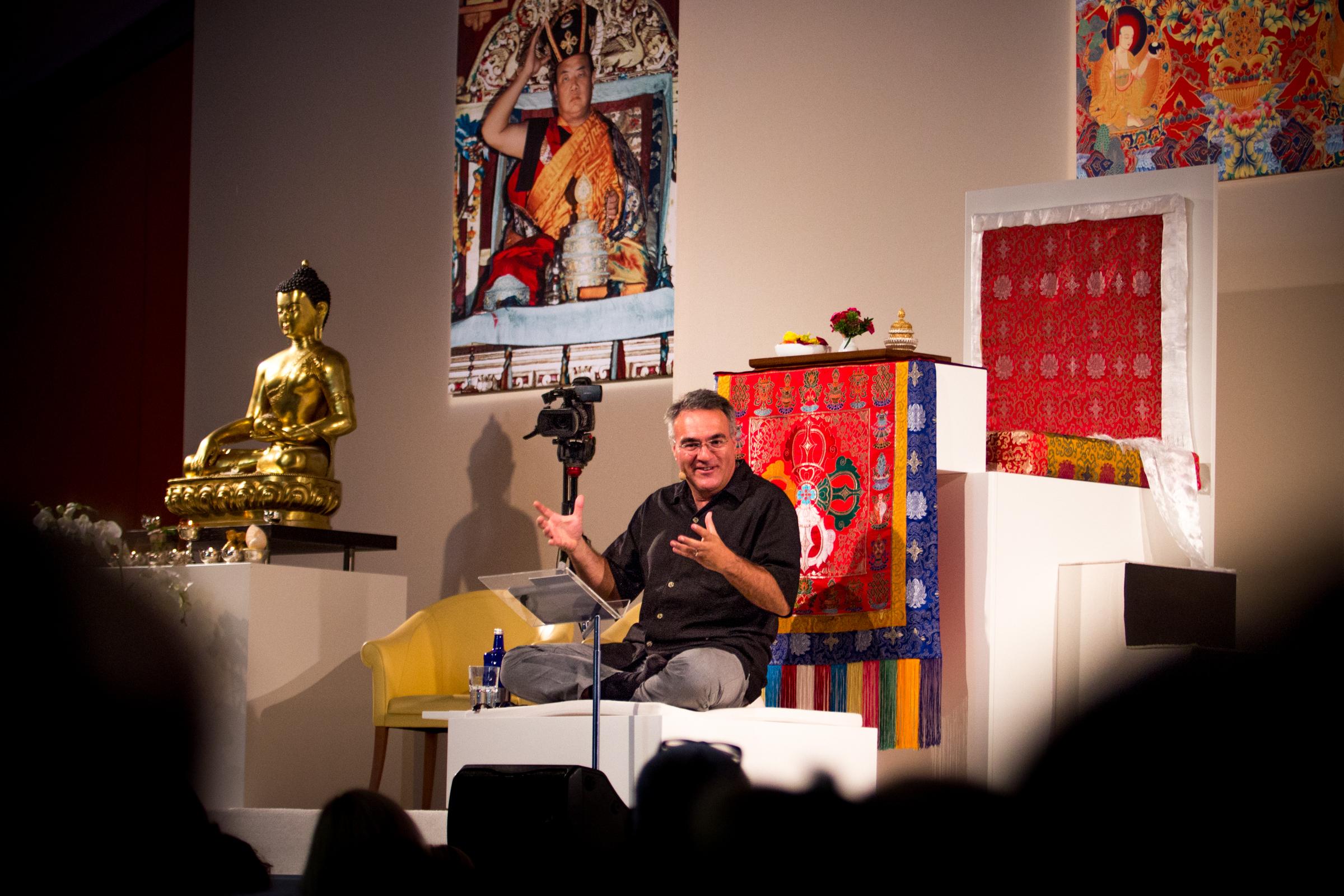 Hablemos de espiritualidad con lama Tony Karam