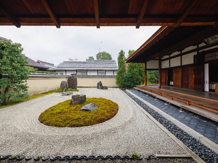 大徳寺で石庭の基礎知識を学ぶ