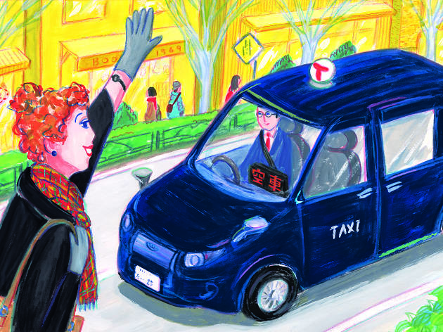 How to take a taxi in Tokyo like a Tokyoite