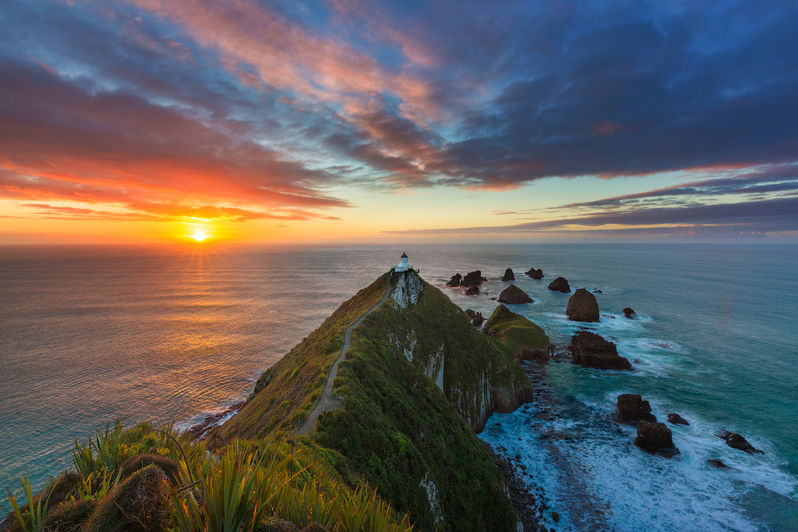 Wake up early and appreciate the full beauty of New Zealand