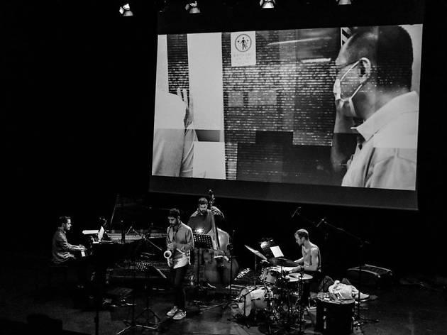 O projecto HVIT, criado por João Grilo e Miguel C. Tavares, junta Simon Olderskog Albertsen (bateria), Christian Meaas Svendsen (contrabaixo) e José Soares (vídeo)