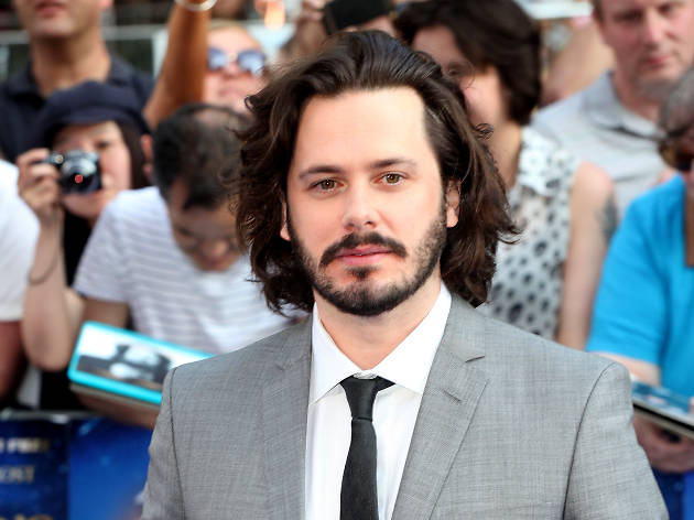 Edgar Wright on the red carpet