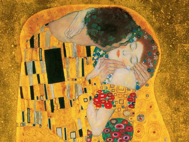 Gustav Klimt, El Beso, 1907-1908
