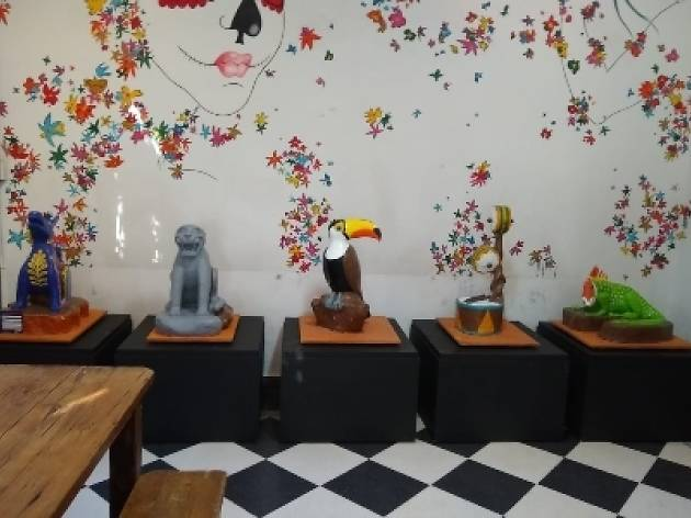 ChocolArte: Esculturas de chocolate en el MUCHO