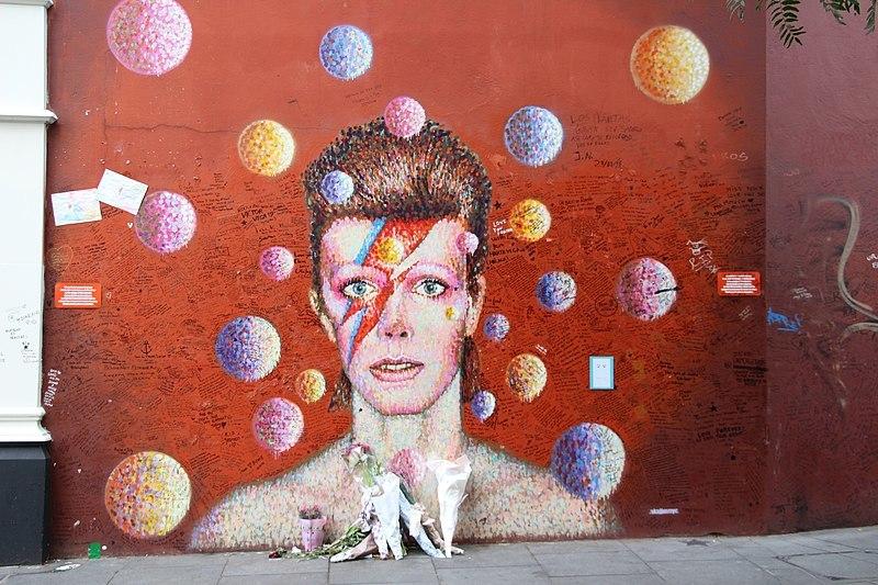 Une rue David Bowie va voir le jour à Paris