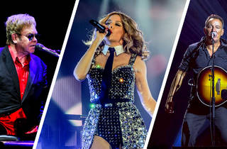 Elton John, Kylie Minogue and Bruce Springsteen