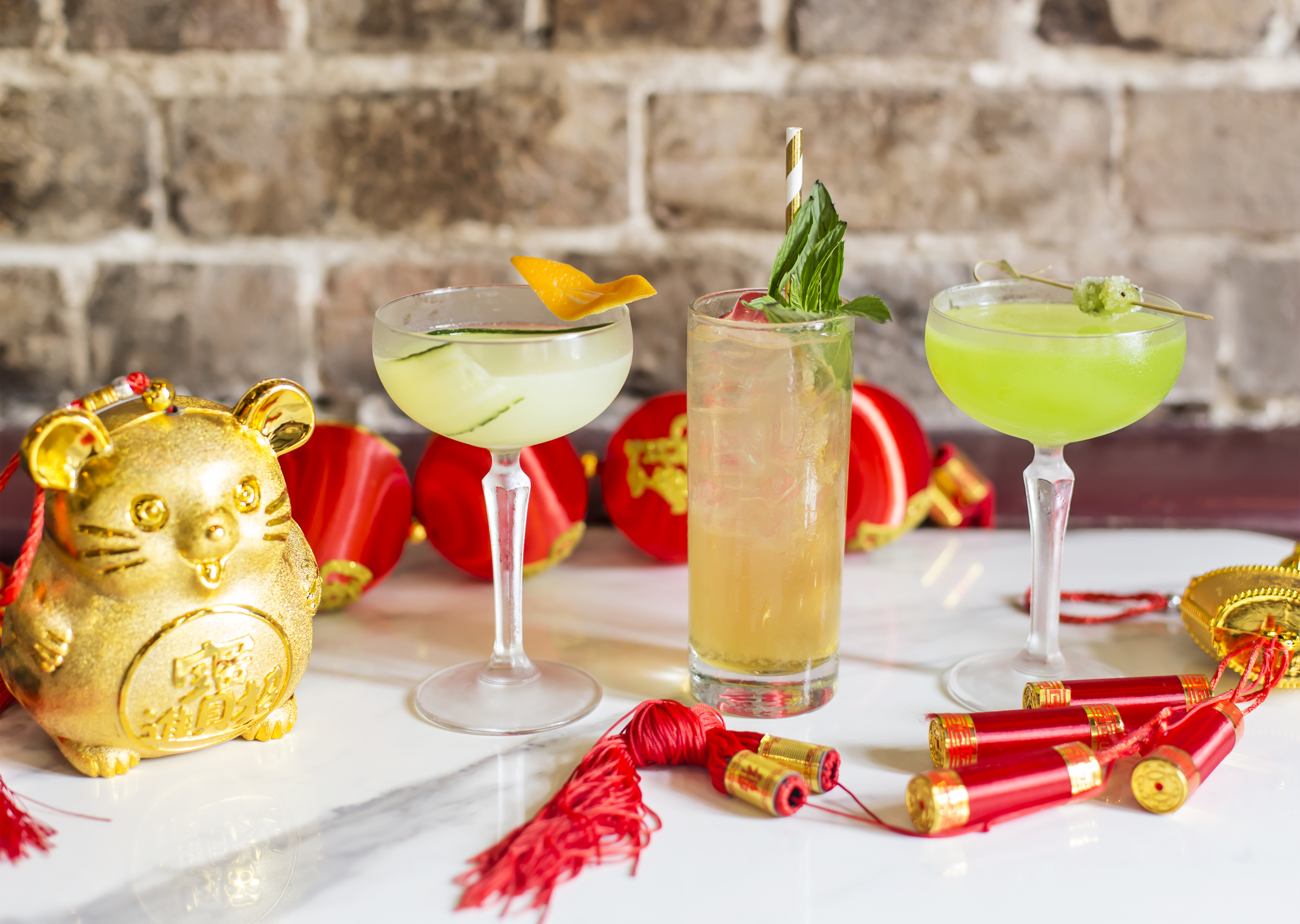 Lunar New Year cocktail specials at the Push
