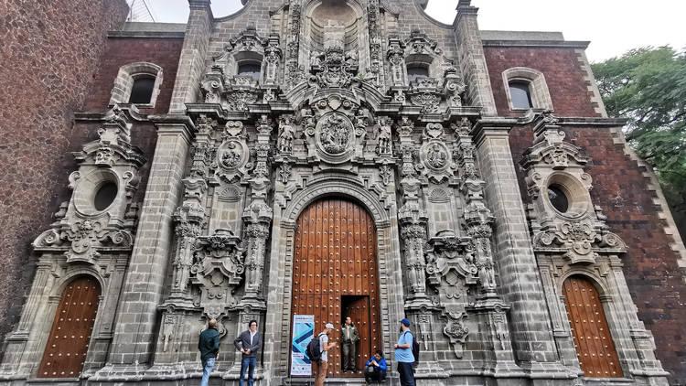 Biblioteca Miguel Lerdo de Tejada en el Centro Histórico