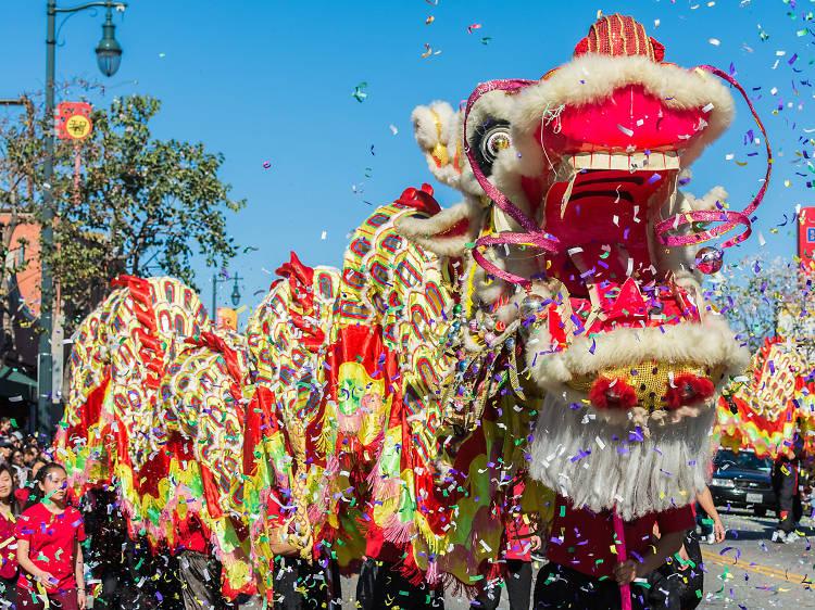LA's Golden Dragon Parade