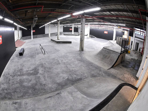 Vans opened a new skatepark in Brooklyn with gnarly sessions for kids