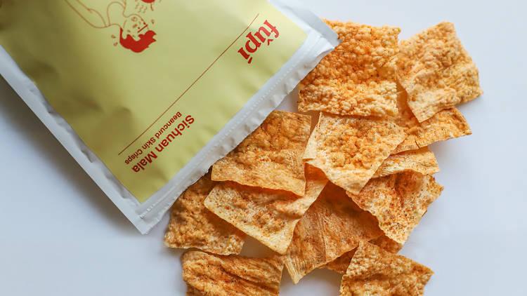 Sichuan Mala Beancurd Skin Crisps