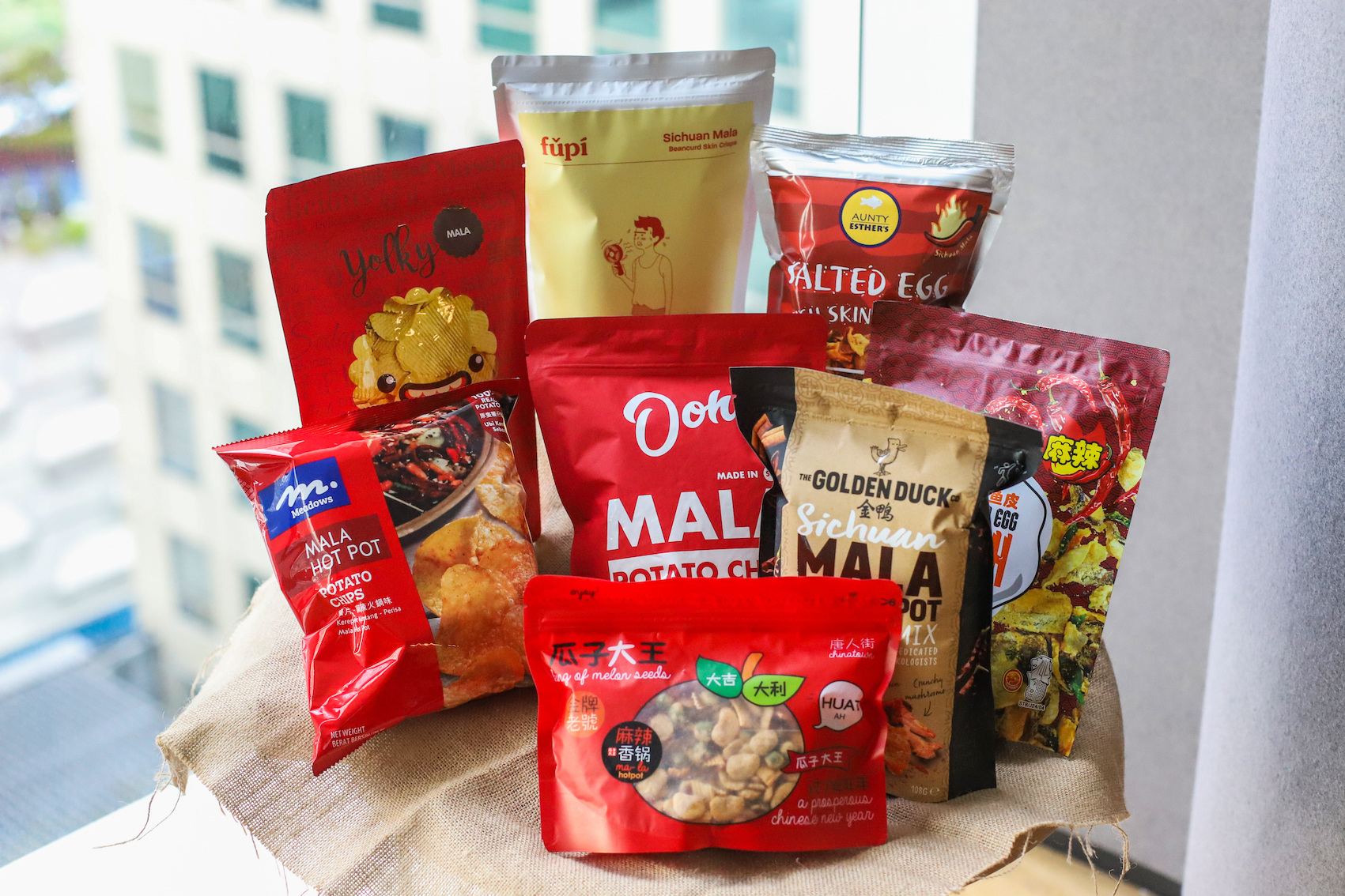 Mala snacks