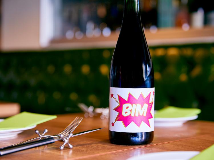 2人のワインをミックス
