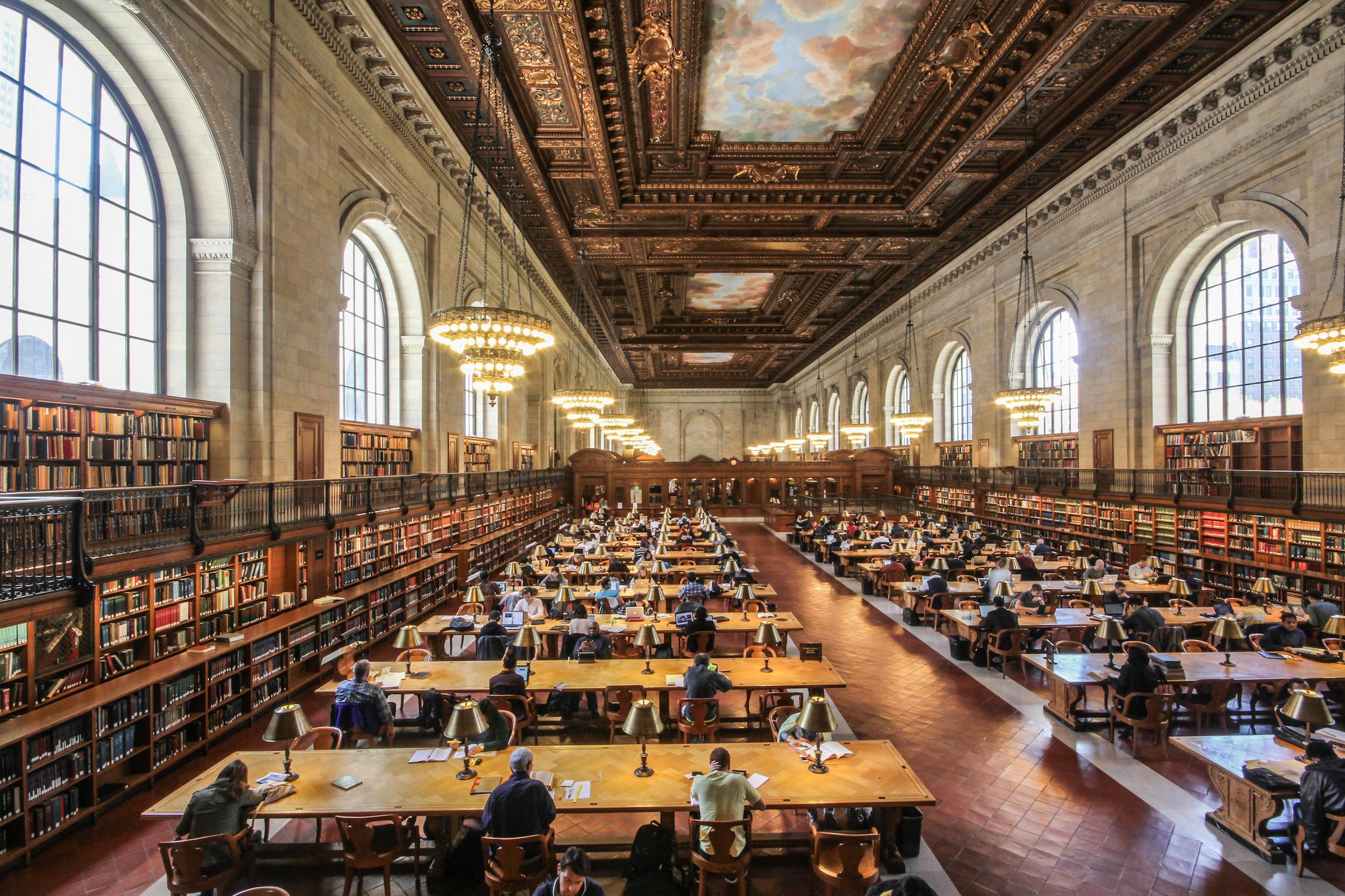 NYPL New York Public Library Rose Reading Room