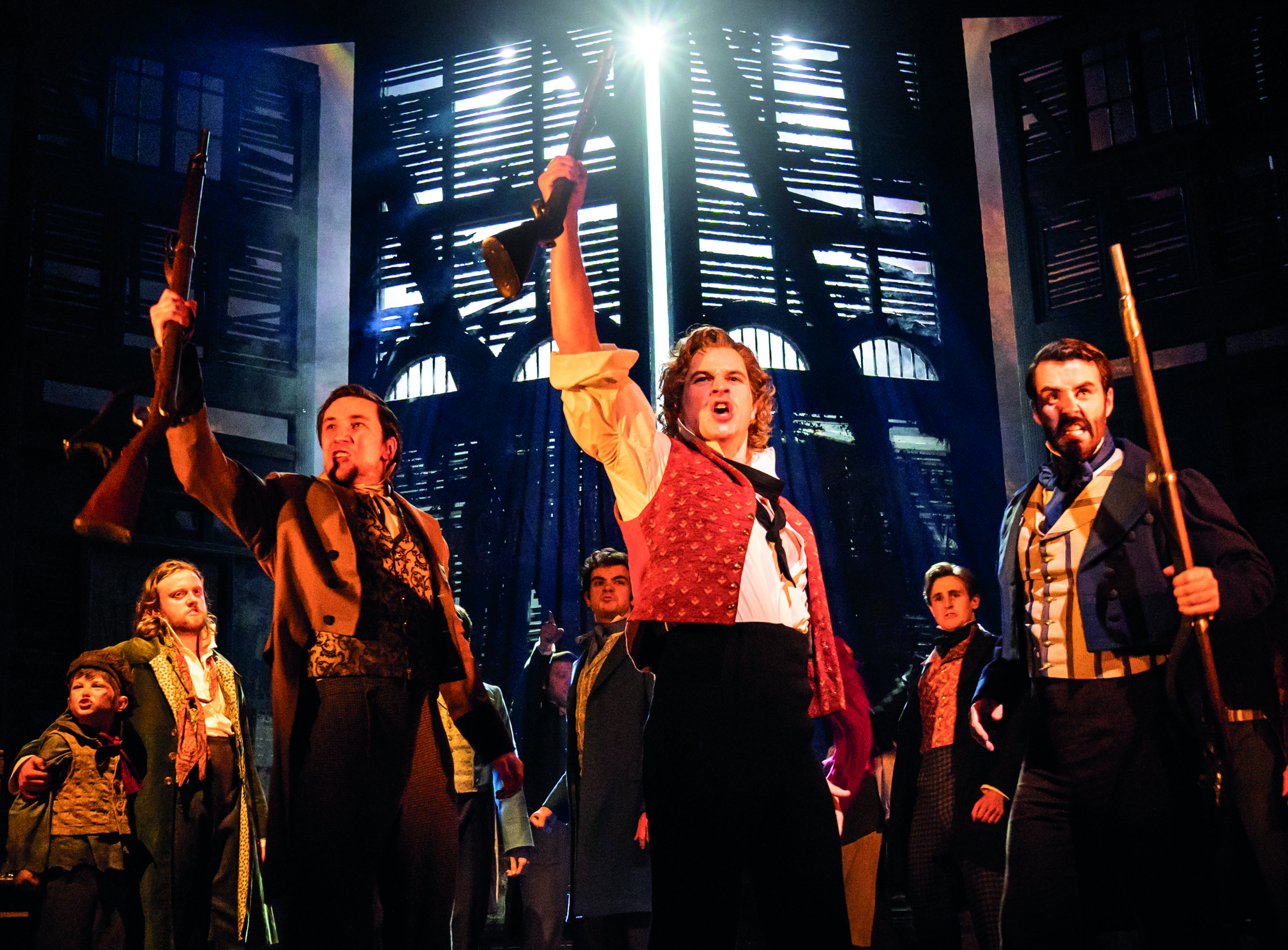 "<meta charset=""utf-8"" /><p><span>Ashley Gilmour as Enjolras</span></p>"