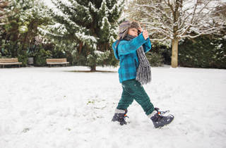 Kid Boots Snow Winter Park