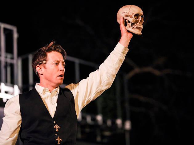 Hamlet Australian Shakespeare Company 2020 supplied