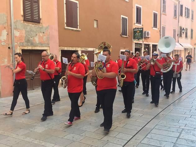 Brass band Rovinj