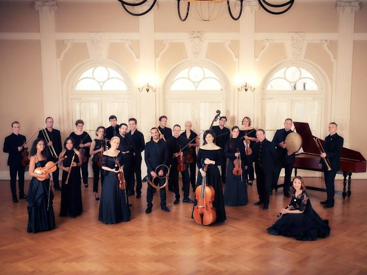 Croatian Baroque Ensemble: Father, son and godfather