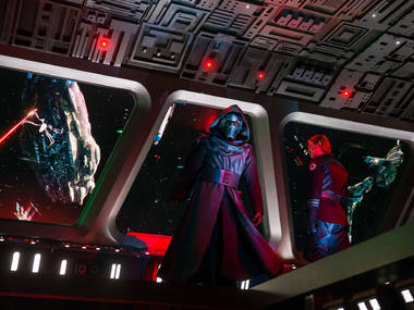 """""""Is Kylo Ren wide enough?"""" and other first reactions to Disneyland's new 'Star Wars' ride, Rise of the Resistance"""