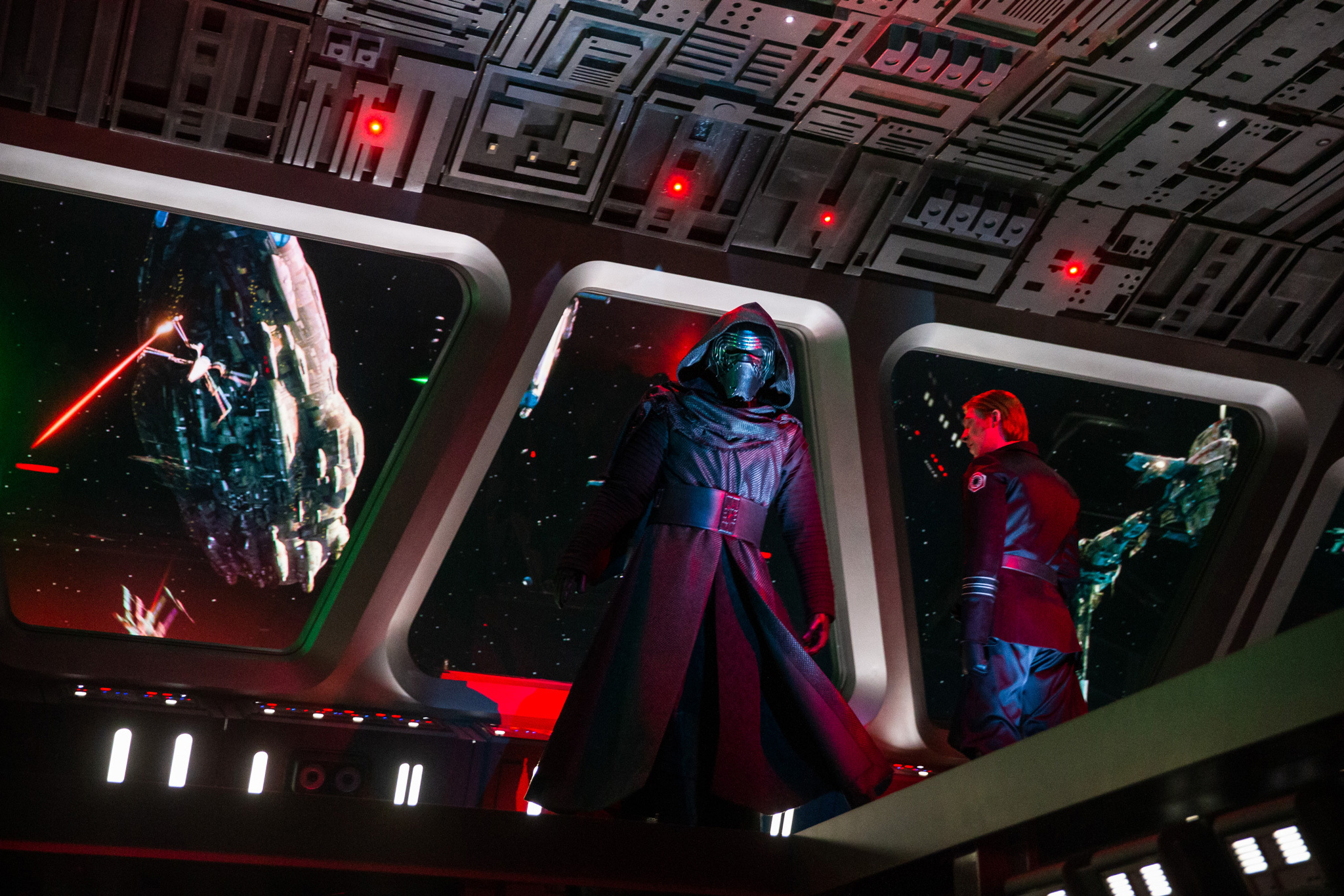 """Is Kylo Ren wide enough?"" and other first reactions to Disneyland's new 'Star Wars' ride, Rise of the Resistance"