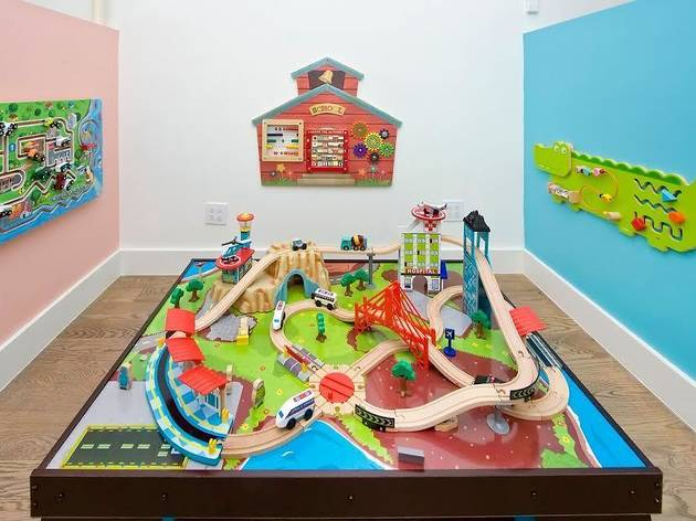 NYC's coolest indoor playgrounds