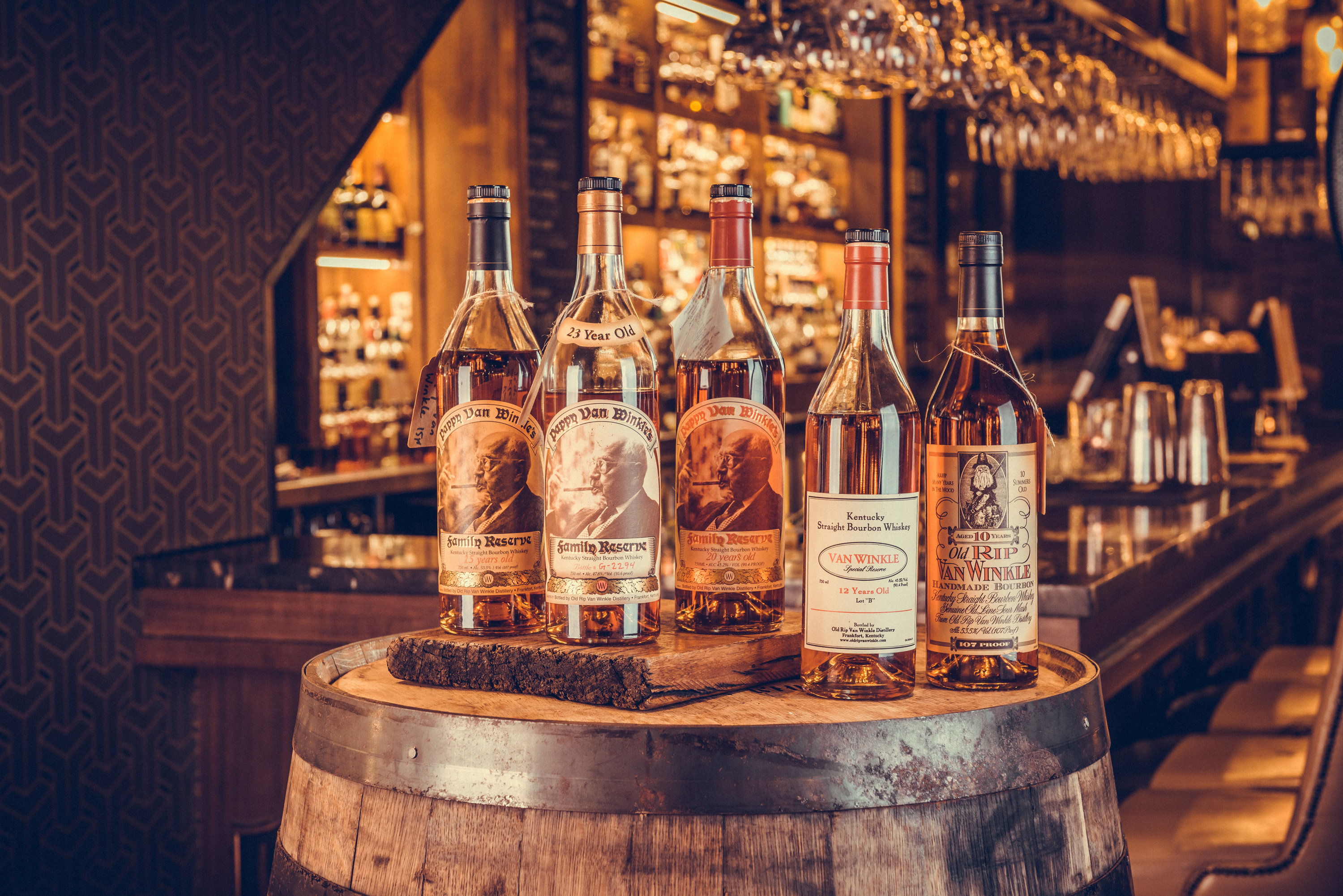 Pappy Van Winkle collection at Webster's Commercial