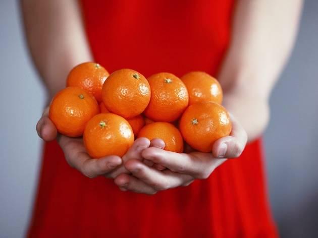 Chinese New Year, oranges