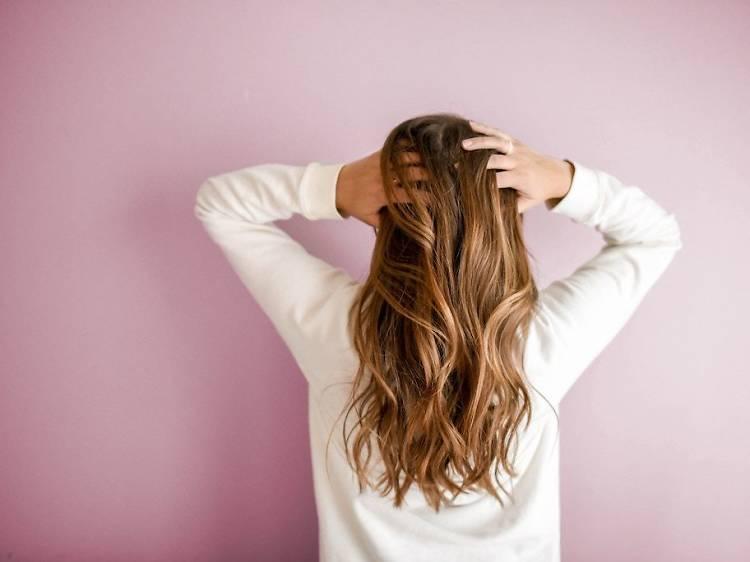Don't wash or cut hair