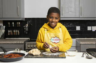 Omari McQueen is the world's youngest restauranteur