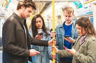 Why don't Londoners talk on the tube?