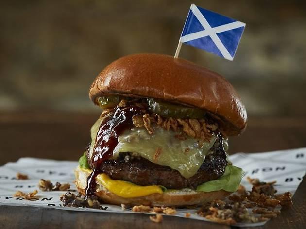 20% off a Burns Night burger, fries and shake at Byron