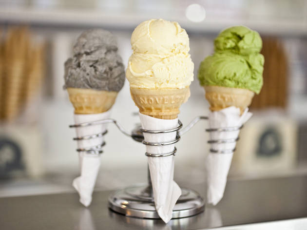 Ice cream shops in NYC