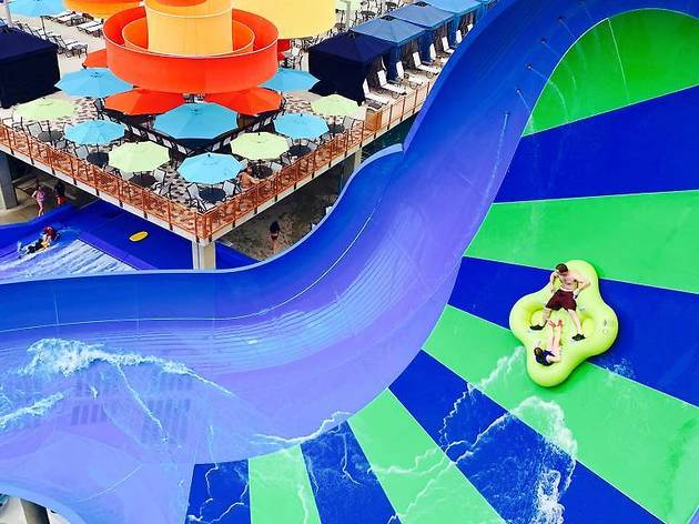 Visit New York's largest indoor water park!