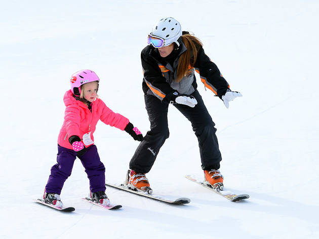 Best ski resorts near NYC for families