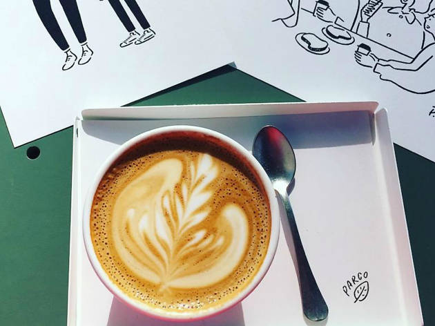 Coffee at Parco