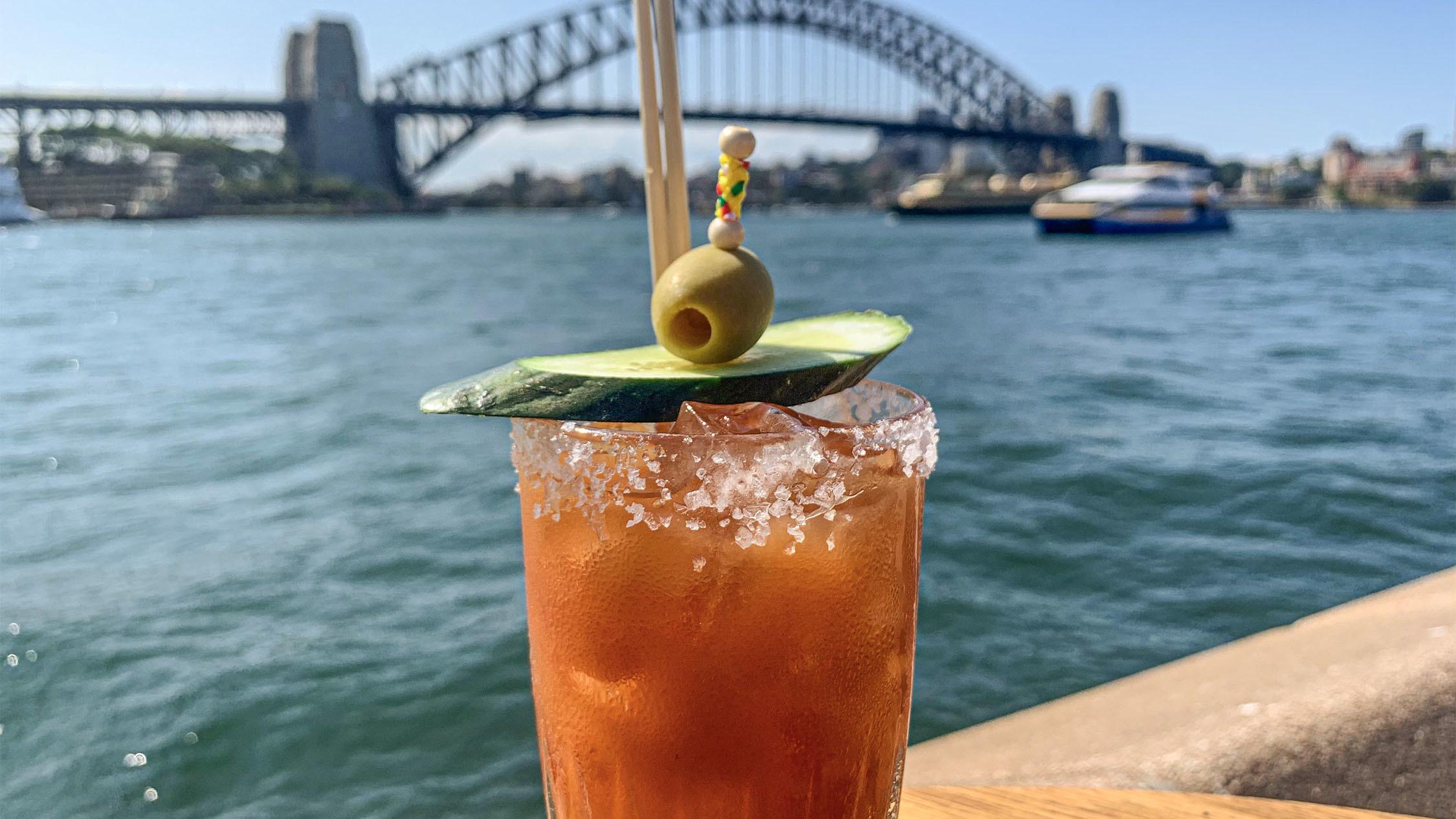 Bloody Mary at Opera Bar