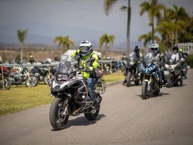 BMW Motorrad Days en Jardínes de México en Morelos