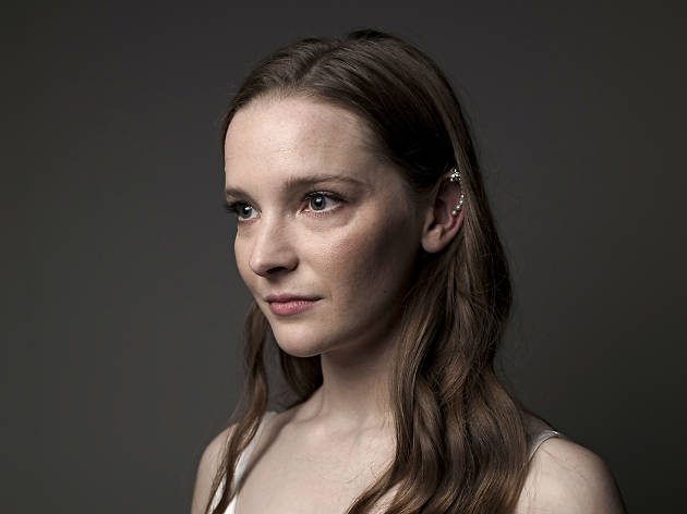 Actor Morfydd Clark poses for a portrait session during the 63rd BFI London Film Festival on October 5, 2019 in London, England.